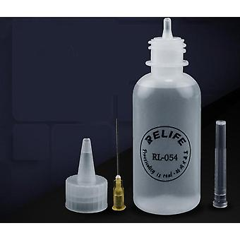 Resin Empty, E-liquid Plastic, Flux Alcohol, Perfume Bottle With Needle