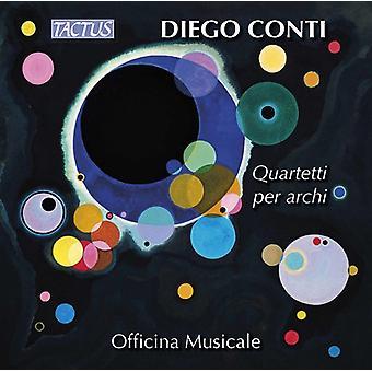 Conti / Musicale - Strings Quartets [CD] USA import