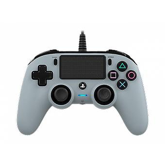 Nacon Kompakti langallinen ohjain (harmaa) PS4