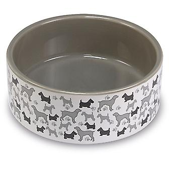 Arquivet Ceramic Dog Bowl 12 cm (Dogs , Bowls, Feeders & Water Dispensers)