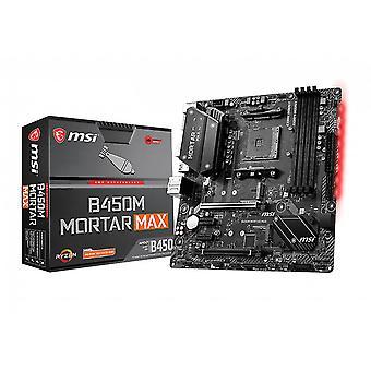 MSI B450M Mortar Max motherboard Socket AM4 Micro ATX AMD B450