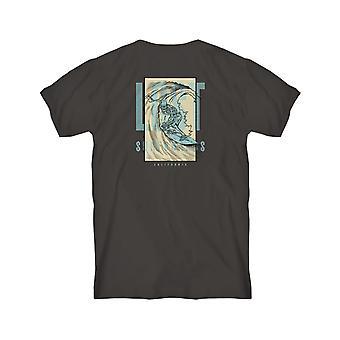 Lost Night Of The Living Barrel Short Sleeve T-Shirt in Black