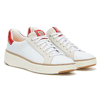 Cole Haan GrandPrø TopSpin Mens White Red Trainers