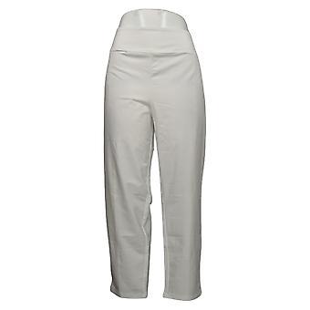 Kvinder med Kontrol Kvinders Petite Pants Tushy Lifter Ankel Hvid A353133