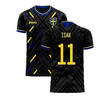 Szwecja 2020-2021 Away Concept Football Kit (Libero) (ISAK 11)