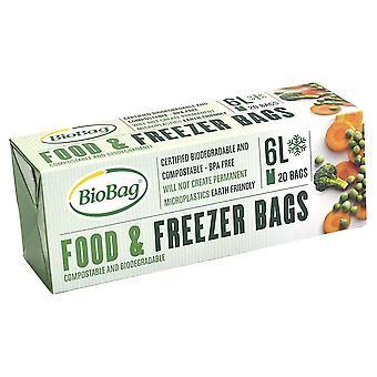 BioBag 6L Food & Freezer Bags