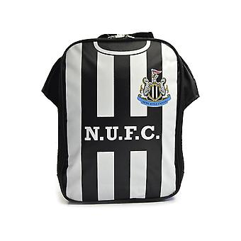 Newcastle United Kit Lunch Bag Black and White