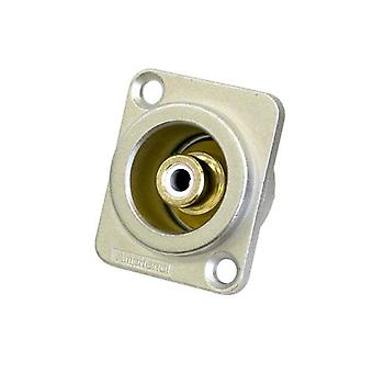 Amphenol Rca D Shell Socket White