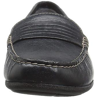 Eastland Womens Annette Leather Square Toe Loafers
