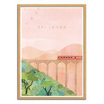 Art-Poster - Visit Sri Lanka - Henry Rivers