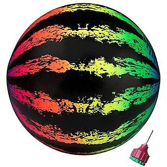 Watermeloen bal zwembad bal float onderwater passeren speelgoed partij zwembad spel (kleurrijk)