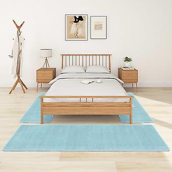 vidaXL høy haug seng matte 3 stk. turkis blå