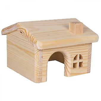 Trixie Wooden House For Hamsters / Mice 15  11  15 Cm
