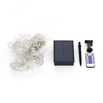 String Lights With Remote Control And Solar Panel