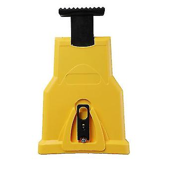 Woodworking Chainsaw Sharpener Fast Grinding Electric Power Tool(Yellow)