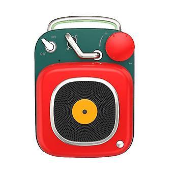 Högtalare hm20 trådlös bluetooth högtalare mini söt nostalgisk högtalare stereomusik subwoofer