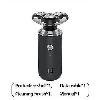 rasoir électrique de barbe de rasoir rechargeable