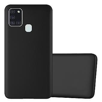Fodral för Samsung Galaxy A21s Flexibel Ultra Slim TPU Silikon telefonväska bakre omslag stötfångare