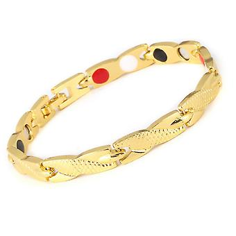 Men Women Twisted Bracelet Healthy Magnetic Therapy Arthritis Pain Relief Wristband
