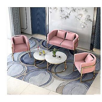 Pequeno sofá contratado salão de beleza moderno nórdico