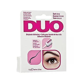 Duo Brush On Strip & Individual False Eyelash Long Lasting Dark Adhesive Glue