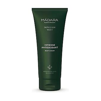 Intense antioxidant body cream infusion vert 200 ml of cream