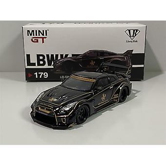 Nissan GT 35GT RR Ver 1 JPS LB Silhouette Works LHD 1:64 MGT00179L
