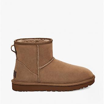 UGG Classic Mini Ii Ladies Sheepskin Boots Hickory