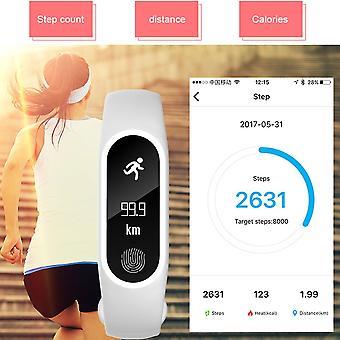 M2 Plus Heart Rate Blood Pressure Wristband Smart Pedometer Band Call Bracelet