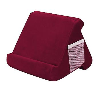 Tablet zachte kussenstandaard voor Ipads multi-angle lap stand mobiele telefoon houder