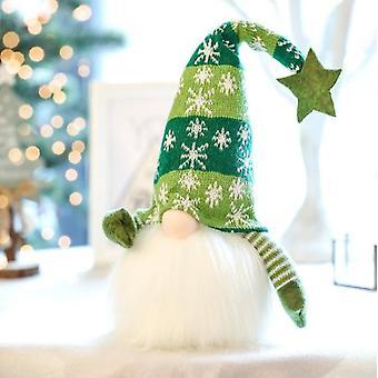 Glowing Santa Rudolph Doll Cloth  For Christmas Present