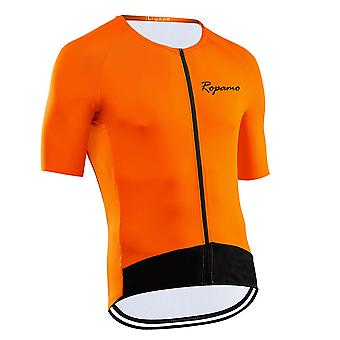 Strava Mænd Udendørs Sport Cykling Jersey 2021 Forår Sommer Cykel Lange ærmer Mtb Tøj Skjorter Wear Bike Jersey Top