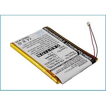 Battery for Sony Walkman NW-S710 NWZ-S600 NWZ-S615 NWZ-S618 1-756-763-11 LIS1401