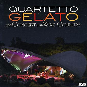Quartetto Gelato - Concert in Wine Country [DVD] USA import