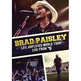 Brad Paisley - vida amplificada World Tour: Importación Estados Unidos vive de Wvu [DVD]