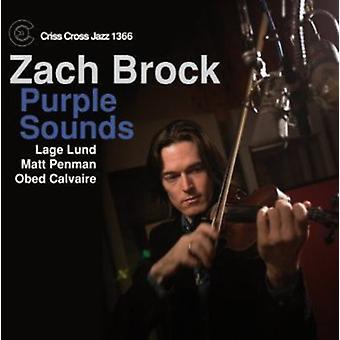 Zach Brock - Purple Sounds [CD] USA import