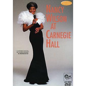 Nancy Wilson - At Carnegie Hall [DVD] USA import
