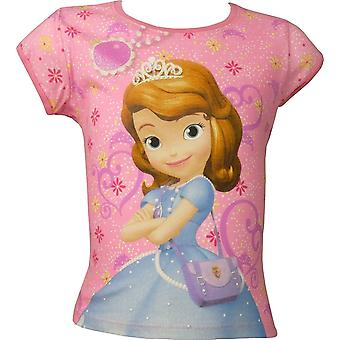 Girls Disney Princess Sofia The First short sleeve T-shirt