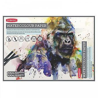 Derwent Watercolour Paper A3 Pad