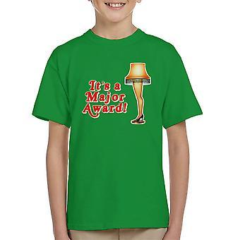 Its A Major Award Christmas Lamp Kid's T-Shirt