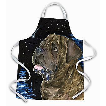 Carolines Treasures  SS8463APRON Starry Night Mastiff Apron