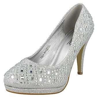 Ladies Anne Michelle Jeweled Court Shoes
