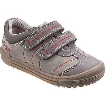 Hush Puppies, meninos e meninas da criança Finn Casual dois sapatos de verão correia