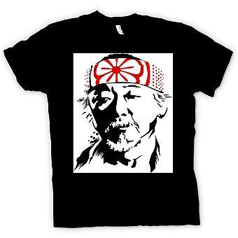 Kinder T-shirt - Karate Kid Herr Miyagi - Portrait