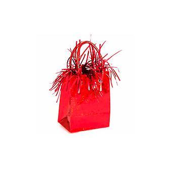 Ilmapallo paino Mini käsilaukku punainen Prisma