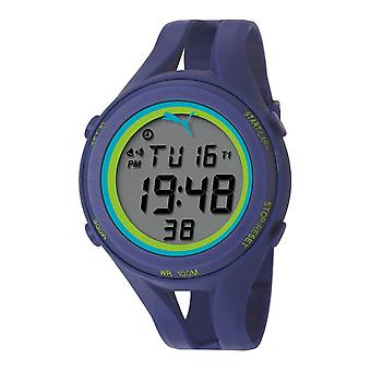 PUMA orologio da polso Guarda mens air III blu digitale PU911171004