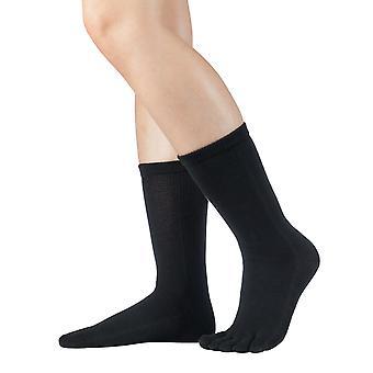 Knitido calf-length toe socks cotton of essentials, 9 colours, unisex