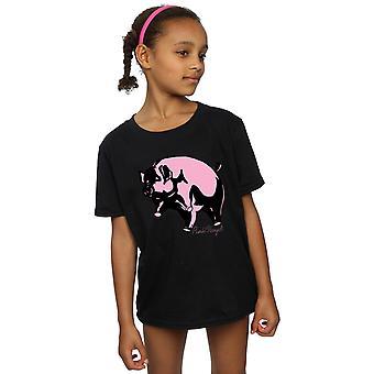 Pink Floyd Mädchen Schwein Skizze T-Shirt