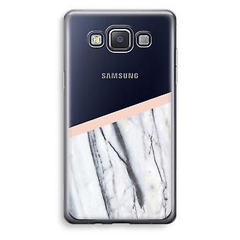Samsung Galaxy A3 (2015) gjennomsiktig sak (myk) - et snev av fersken