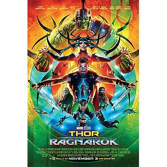 Thor Ragnarok Movie Poster Poster Print